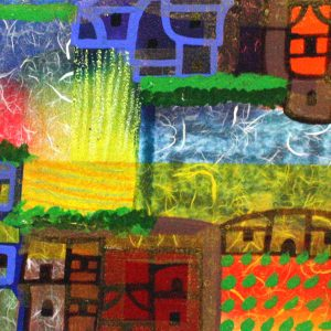 Code: 19140 Title: Greenland Landscape Size: 12 inches x 48 inches Medium: Mixed Media