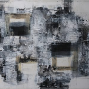 Code: 19413 Title: Black and White Series Size: 36 inches x 48 inches Medium: Mixed Media