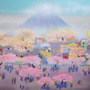 Code: 20290 Title: Mt. Fuji Size: 48x60in Medium: MM