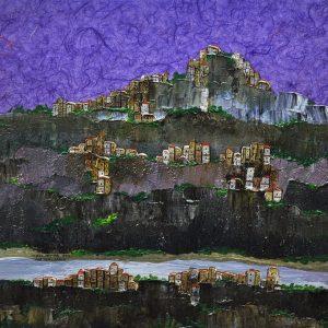 Code: 20819 Title: Cuenca, Spain Size: 24x24in. Medium: MM