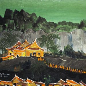 Code: ASN 074 Title: Luabang Prabang Size: 12x16in Medium: Acrylic on Canvas