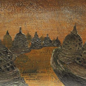 Code: ASN 054 Title: Enchainment Des Stoupas Size: 12x16in Medium: Acrylic on Canvas