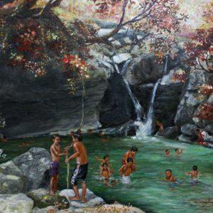 Code: 19065 Title: Talon Medium: Oil on canvas Dimension:   24in x 18in