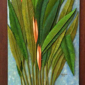 Code: RA 029 Title:  Medium: Batikuling Wood Dimension: 27in x 16in