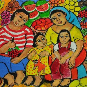Code: 18910 Title: Family Series Size: 12x16 Medium: Oil on Canvas Year: 2017