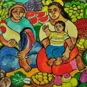 Code: 18961 Title: Family Series Size: 12x16 Medium: Oil on Canvas Year: 2017