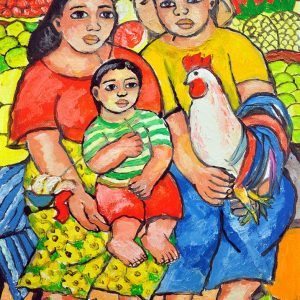 Code: 18978 Title: Family Series Size: 12x16 Medium: Oil on Canvas Year: 2017