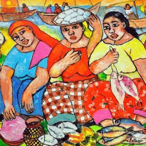 Code: 18979 Title: Tres Marias Size: 12x16 Medium: Oil on Canvas Year: 2017