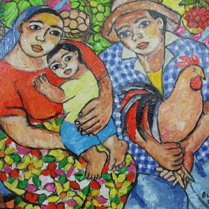 Code: 19013 Title: Family Series Size: 12x16 Medium: Oil on Canvas Year: 2017