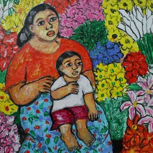 Code: 19204 Title: Mother and Child Size: 12x16 Medium: OC Year: 2017