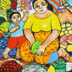 Code: 20132 Title: Mother and Child Size: 12x16in Medium: OC