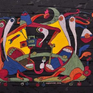 Code: CSR 051 Title: Night at the Opera Size: 18 inches x 24 inches Medium: Mixed Media