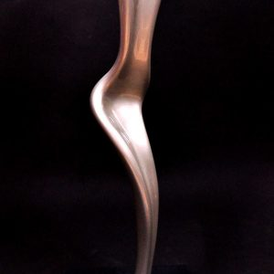 Code: JN 004 Title: Shining from Within Series Reinforced Epoxy/PolyUrethane Paint/on Wood Base Dimension: 9.5in x 30in