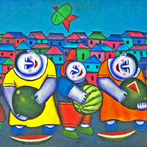 Code: 15667 TItle:  Size: 20 x 48 Medium : Oil on Canvas Year: 2015
