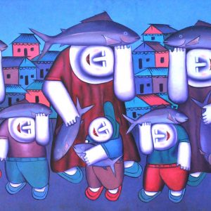Code: 15832 TItle:  Size: 24 x 50 Medium : Oil on Canvas Year: 2015