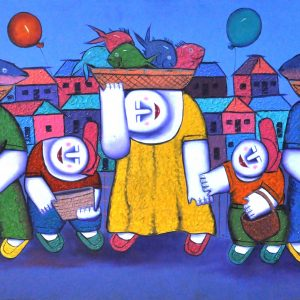 Code: 16079 TItle:  Size: 22 x 48 Medium : Oil on Canvas Year: 2015