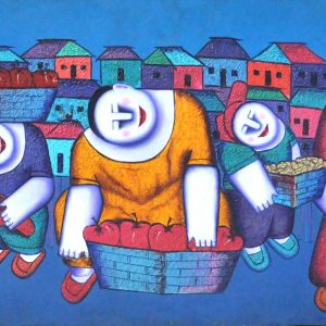 Code: 16262 TItle:  Size: 21 x 54 Medium : Oil on Canvas Year: 2015