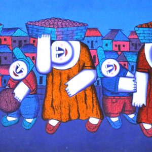 Code: 16412 TItle:  Size: 21 x 54 Medium : Oil on Canvas Year: 2015