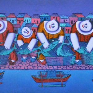 Code: 16522 TItle:  Size: 27 x 54 Medium : Oil on Canvas Year: 2015