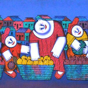 Code: 16637 TItle:  Size: 20 x 58 Medium : Oil on Canvas Year: 2015