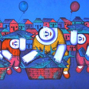 Code: 16685 TItle:  Size: 23 x 48 Medium : Oil on Canvas Year: 2015