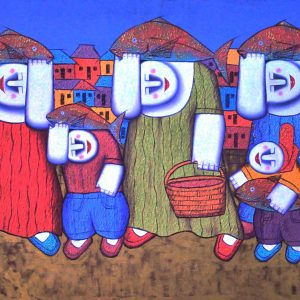 Code: 17121 TItle:  Size: 24 x 42 Medium : Oil on Canvas Year: 2015