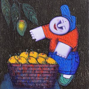 Code: 17517 Title: Fruit Harvest Size: 16x12in Medium: Oil on Canvas