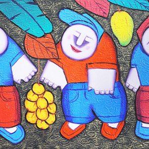 Code: 17735 Title: Halaman doon Size: 11.5x21.5in Medium: Oil on Canvas