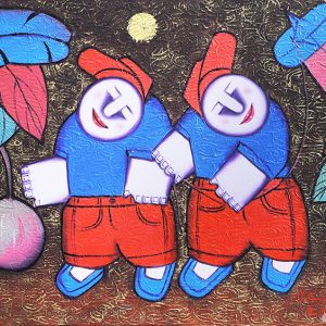 Code: 17759 Title: Summer na Size: 14x18in Medium: Oil on Canvas