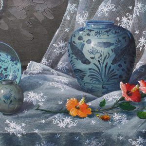 "code: 19018|  title: ""Kaloob Mula sa Puso ""|  size: 24 x 48 in|  medium: Acrylic on Canvas"