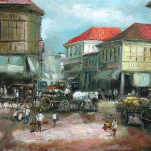 Code: 19113 Title: Gandara Manila Medium: Oil on Canvas Dimension: 12in x 16in