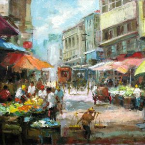 Code: 19115 Title: T. Alonzo Manila Medium: Oil on Canvas Dimension: 12in x 16in