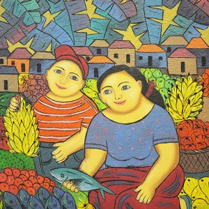 Code: 19214 Title: Mother and Child Size: 20x16in Medium: Oil on Canvas