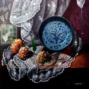 "code: 19355 title: ""Alaala Series"" size: 24 x 48 in medium: Acrylic on Canvas"