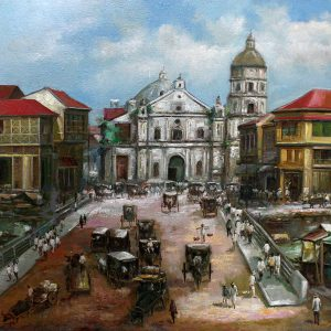 Code: 19377 Title: Old Church Medium: Oil on Canvas Dimension: 30in x 40in