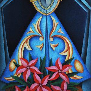 Code: 19532 Title: Virgin Mary Medium: Oil on Canvas Dimension: 36 x 24 in