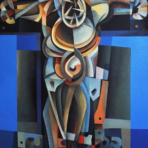 Code: 19572 Title: Christ Medium: Oil on Canvas Dimension: 48 x 40 in