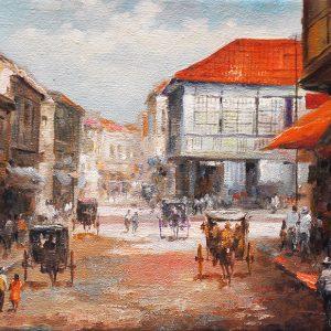 Code: 19742 Title: Escolta Size: 12x16in Medium: Oil on Canvas