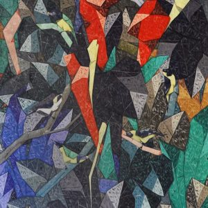Code: 20422 Title: Phil. Oriole Birds Size: 48x72 Medium: Acrylic on Canvas