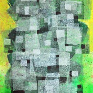 Code: 20424 Title: Urbanization Series Size: 30x22 Medium: Acrylic on Paper