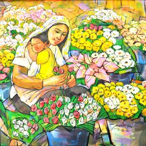 Code: 8531 Title: Size: 37 x 27 in Medium: Oil on Canvas