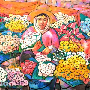 Code: 8547 Title:  Size: 28 x 36 in Medium : Oil on Canvas