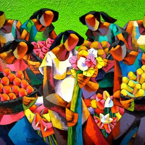 Artwork #: 20700 Title: Blessed Harvest Size: 36x 60 in Medium: Acrylic on Canvas