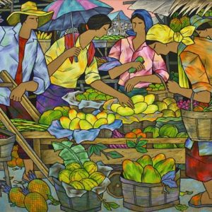 Size: 30in x 60 inches Medium: Oil on Canvas GP: 180,000 Net: 144,000 Pre-selling: (for limited time only): 126,000