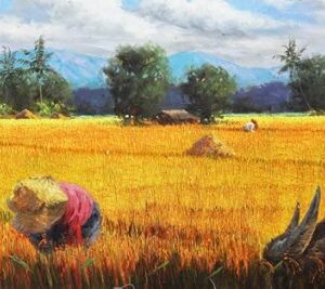 "#17827 ""A Panorama of Nostalgic Fields"" 