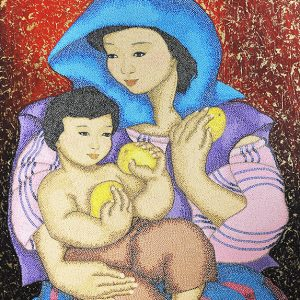 Code:16286 Title:Mother and Child Size:32x24 Medium:OC