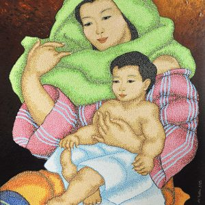 Code:16927 Title:Mother and Child Size:32x24 Medium:OC