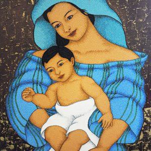Code:19577 Title:Mother and Child Size:32x24 Medium:OC