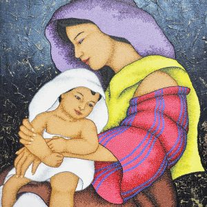 Code:19822 Title:Mother and Child Size:32x24 Medium:OC