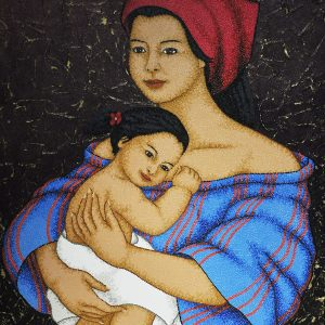 Code:19852 Title:Mother and Child Size:32x24 Medium:OC
